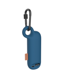 Mini Power Bank Battery Charger with Carabiner