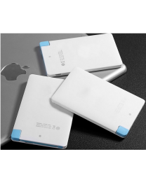 Promotional gift credit card power bank for mobile phone